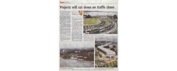 Projects will cut down on traffic chaos