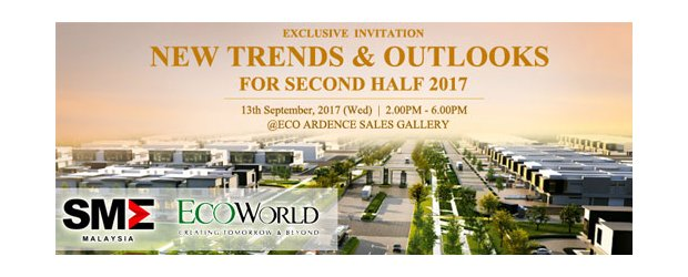 INVITATION TO NEW TRENDS & OUTLOOKS FOR SECOND HALF 2017 (SEPT 13, WED)<br>《2017下半年最新趋势与经济展望》 座谈会9月13日(星期三)